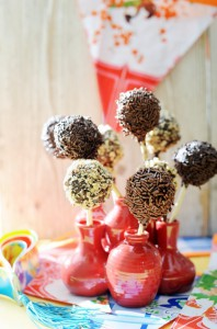 Chocolade cakepops