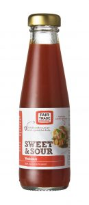Sweet en sour woksaus-Fair Trade Original-voor