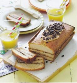 Laagjescake met pindakaas en hagelslag