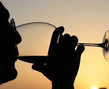 wijn mond